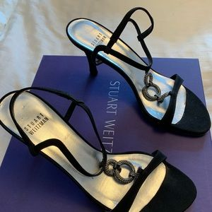 Stuart Weitzman Shoes - Stuart Weitzman Black Evening shoe.